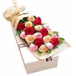 深爱着你/20枝玫瑰礼盒