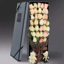 与你白头到老/33支玫瑰礼盒