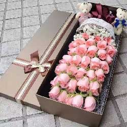 让你幸福一生/36枝戴安娜玫瑰礼盒