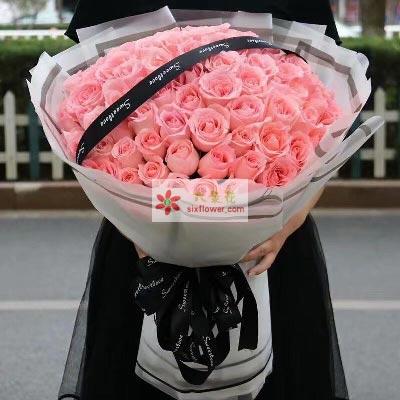 伟大甜蜜的爱/99枝戴安娜玫瑰