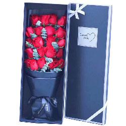 想你/21枝红玫瑰礼盒