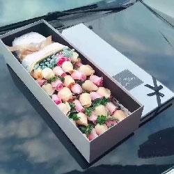 爱你一生/33枝玫瑰礼盒