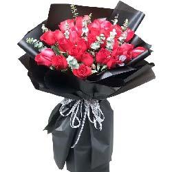 与你一起梦想/19枝红色玫瑰