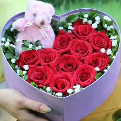 全部的爱/11支玫瑰礼盒