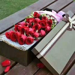心中只有你/19支玫瑰礼盒