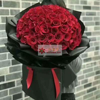 天天想着你/99支红色玫瑰