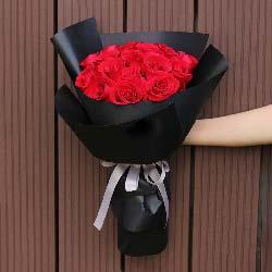 爱永远/21枝红色玫瑰