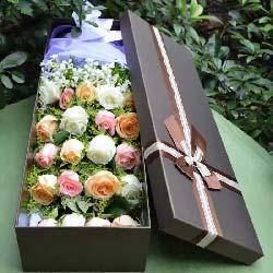 你是我生命的全部/21支玫瑰礼盒