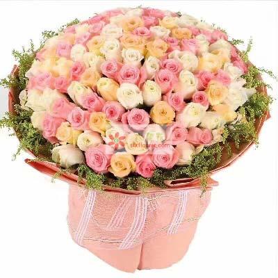 天涯的爱/99支玫瑰混搭