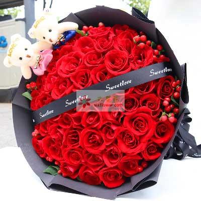 真爱/33支红色玫瑰