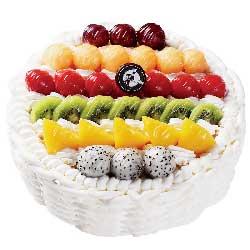 你是我今生的骄傲/8寸圆形水果蛋糕