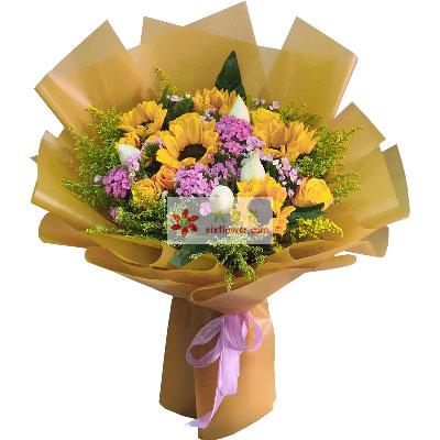5朵向日葵,11朵玫瑰,灵感共鸣