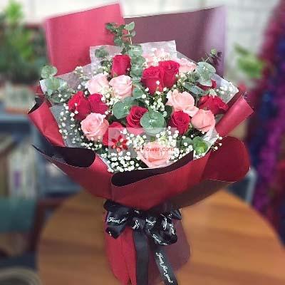17枝玫瑰/永远在一起