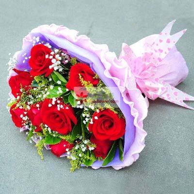 9支红玫瑰/和你在一起,都是幸福