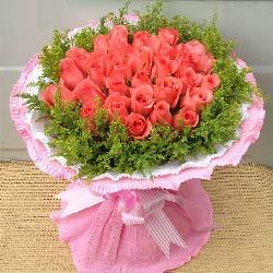 想要你说声爱我/29支粉玫瑰