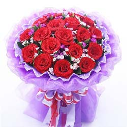 19枝红玫瑰/每时每刻想你