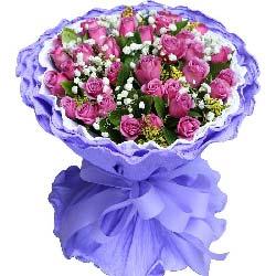 33支紫玫瑰/想你是甜蜜的