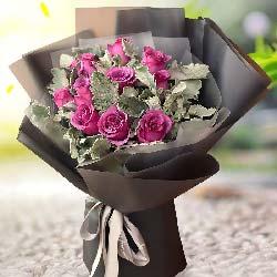 11枝紫玫瑰/拥你在怀里