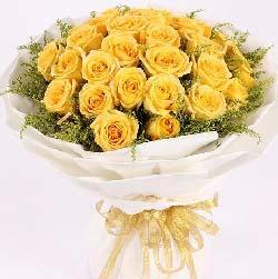 25枝黄玫瑰/美梦成真