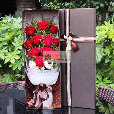 11支红玫瑰/美丽的人