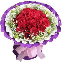 19支红玫瑰…
