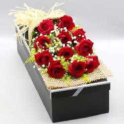 11枝红玫瑰礼盒/真的好想你