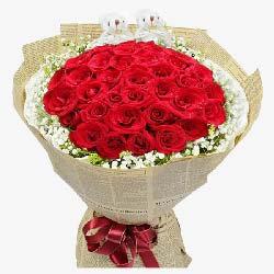 捎去我的爱/33支红玫瑰