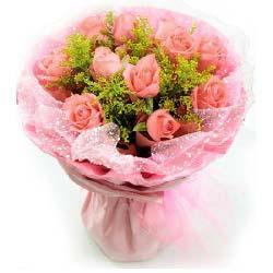 11朵粉玫瑰/时时想着你