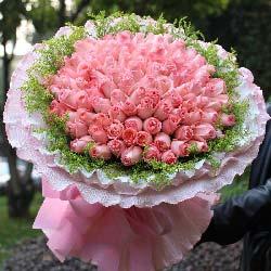 99朵戴安娜玫瑰/我爱你一生一世