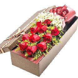 11支红玫瑰礼盒/一生相伴到永远