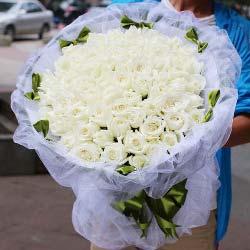 99支白玫瑰/永远爱你