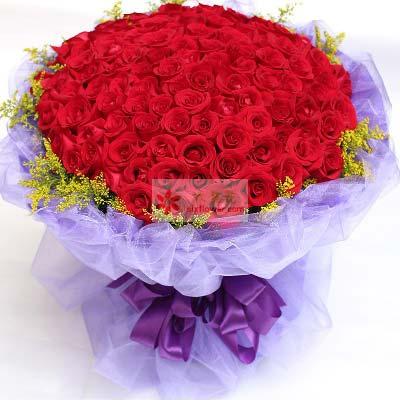 99支红玫瑰/一生去感受你