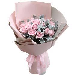 16朵戴安娜玫瑰/我们在一起
