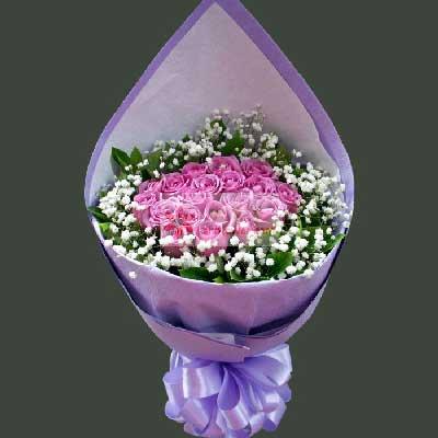 19朵紫玫瑰,一生永甜蜜