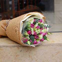 16朵紫玫瑰,亲爱的爱人