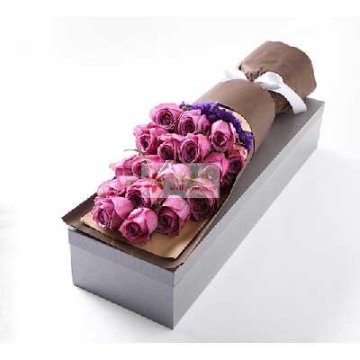 18支紫玫瑰/快乐理由