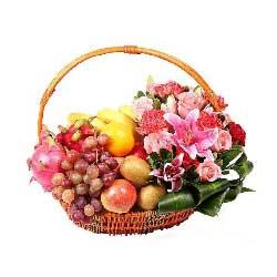 葡萄、猕猴桃等果篮,共渡幸福好时光
