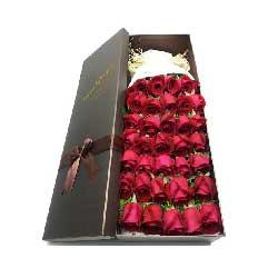 34朵红玫瑰,春光灿烂