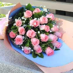 20朵戴安娜玫瑰,陪伴到永远