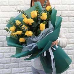 16朵黄玫瑰,伟大的爱