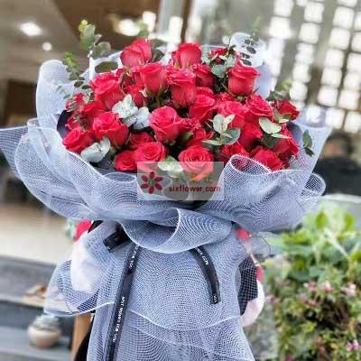 36朵红玫瑰,我想你了