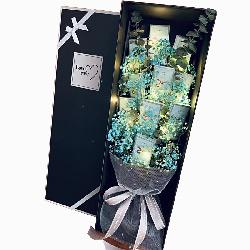蓝色满天星礼盒,十全十美