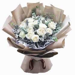 16朵白玫瑰,你是我的白色恋人