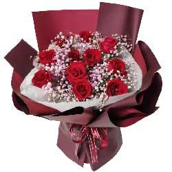 11朵红玫瑰,亲爱的我想你