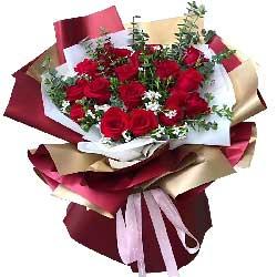 17朵红玫瑰,在一起相守一生
