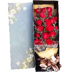 19朵红玫瑰礼盒,今生有你一生无憾