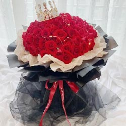 99朵红玫瑰,永远陪你走
