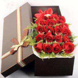 20朵红玫瑰礼盒,幸福的源泉
