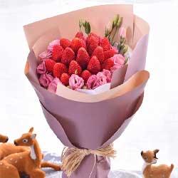 18颗草莓,吉祥幸福