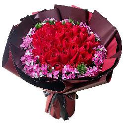 39朵红玫瑰,想你在每一天
